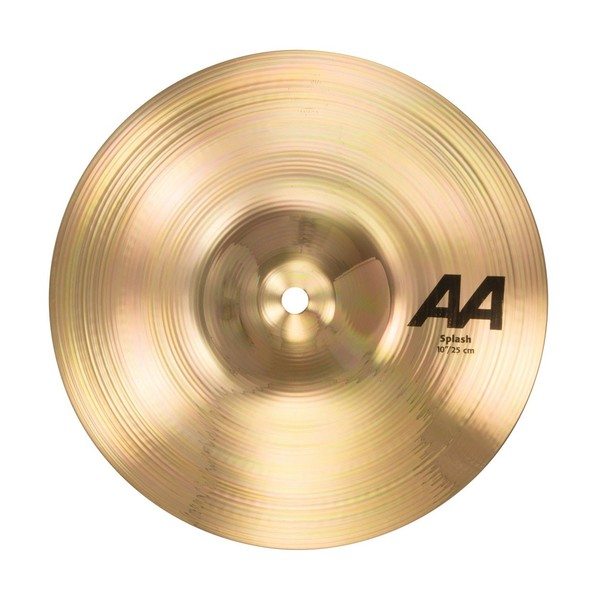 "Sabian AA Series Splash 10"" Cymbal, Brilliant - main image"
