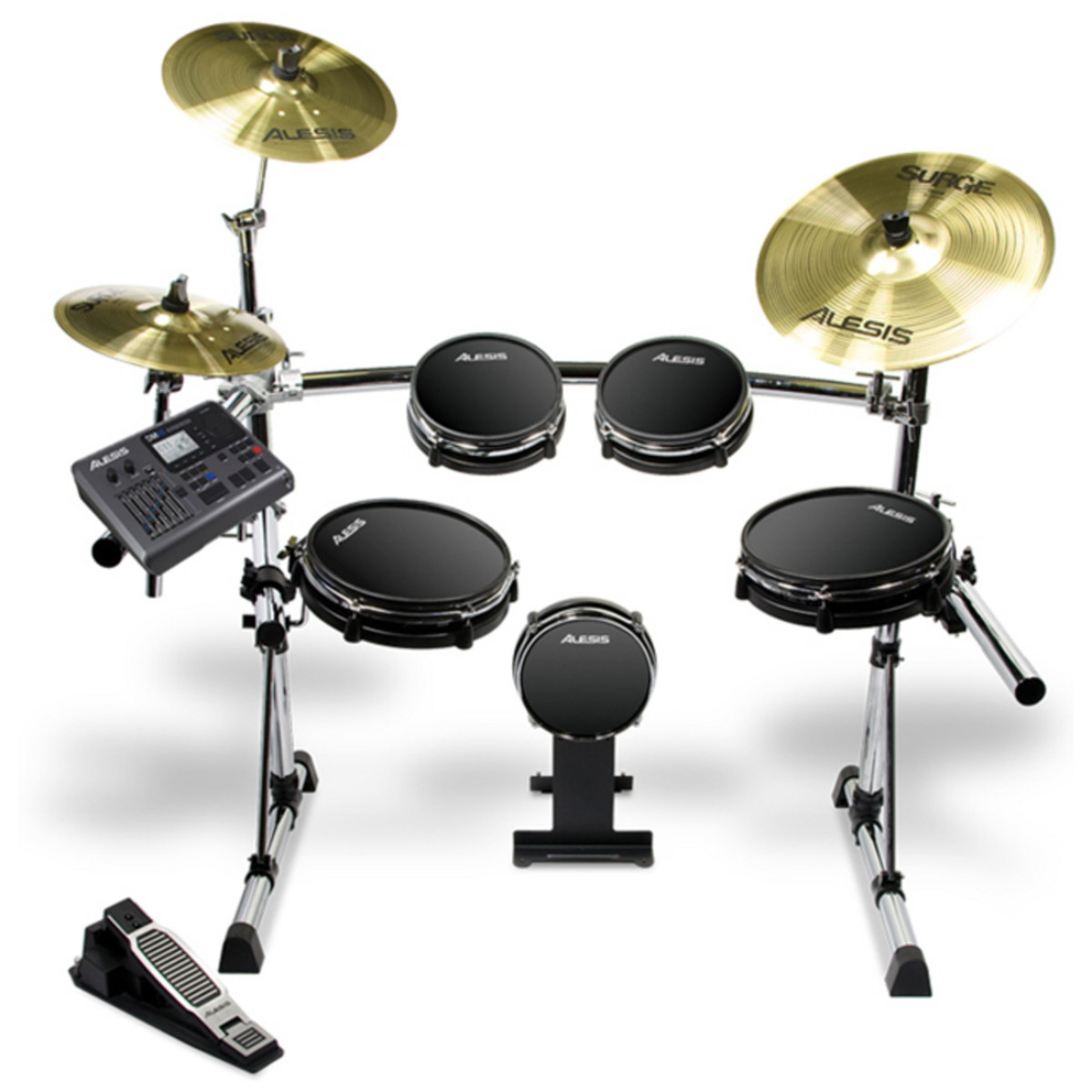 discontinued alesis dm10 pro electronic drum kit at gear4music. Black Bedroom Furniture Sets. Home Design Ideas