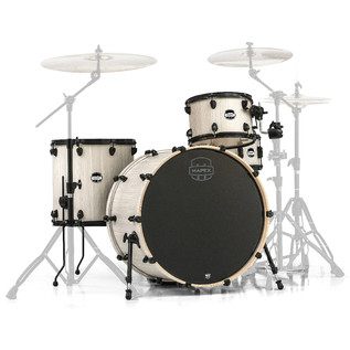Mapex Mars 24'' Big Beat 4 Piece Shell Pack, Bonewood