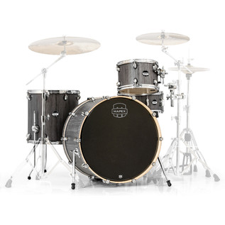 Mapex Mars 24'' Big Beat 4 Piece Shell Pack, Smokewood