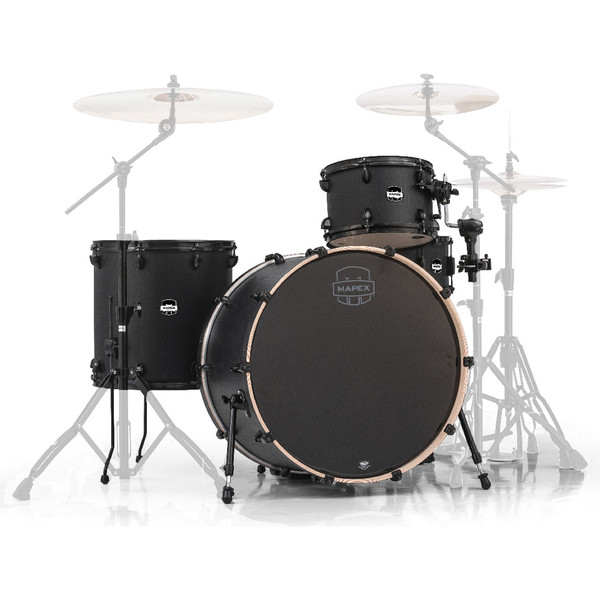Mapex Mars 24'' Big Beat 4 Piece Shell Pack, Nightwood