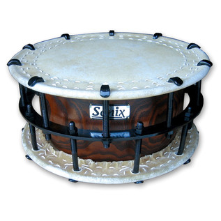 Percussion Plus PP327 Shimedaiko with Bachi, Bolted