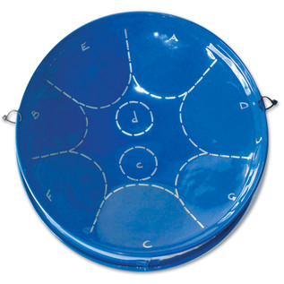 Percussion Plus PP451/B Steelpan, Blue