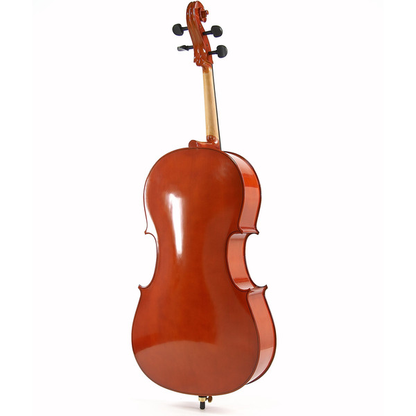 4/4 Size Cello with Case + Beginner Pack