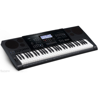 Casio CTK-7200 Portable Keyboard with Bench, Headphones + Stand