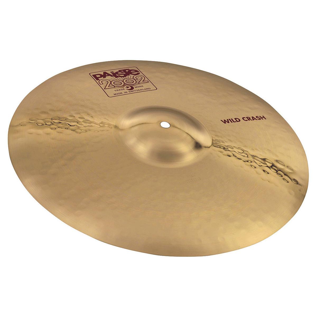 paiste 2002 20 39 39 wild crash cymbal at gear4music. Black Bedroom Furniture Sets. Home Design Ideas