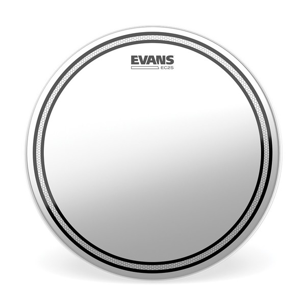 Evans EC2 Edge Control SST Coated Drum Head, 10''