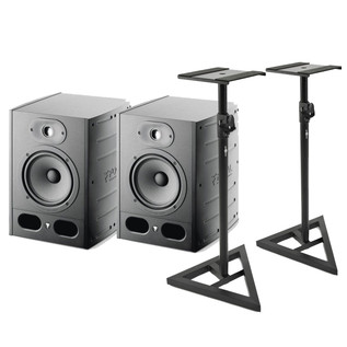 Focal Alpha 65 Active Studio Monitors (Pair) Includes Stands