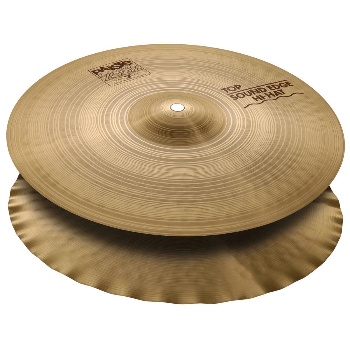 paiste 2002 15 39 39 sound edge hi hat cymbals at gear4music. Black Bedroom Furniture Sets. Home Design Ideas
