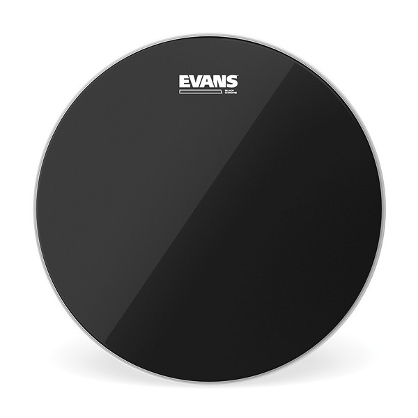 Evans Black Chrome Drum Head, 14''