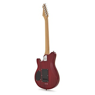 Santa Monica Electric Guitar by Gear4music, Trans Red