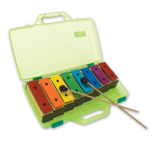 Percussion Plus Chime Bar set of 8 in Case