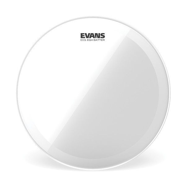 Evans EQ4 Clear Bass Batter Head 22""