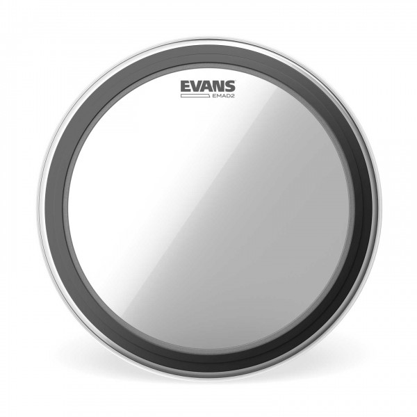 """Evans EMAD2 Clear Bass Drum Head 20"""""""
