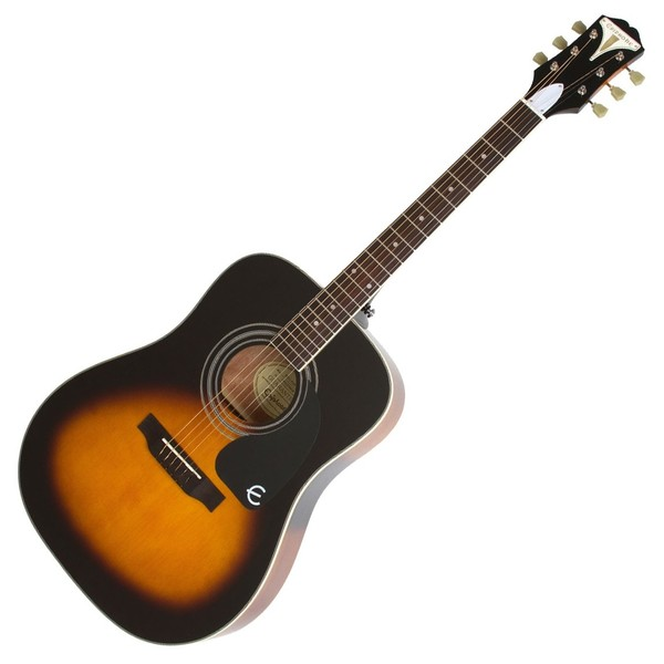 Epiphone Pro-1 PLUS Acoustic Guitar for Beginners, Vintage Sunburst