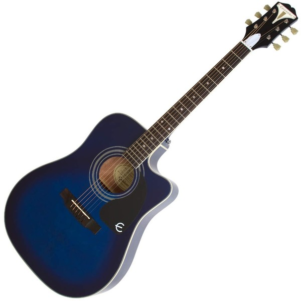 Epiphone Pro-1 ULTRA Electro-Acoustic Guitar for Beginners, Blue