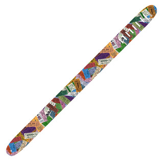 Perri's 6071 The Beatles 2.5'' Guitar Strap, Ticket To Ride
