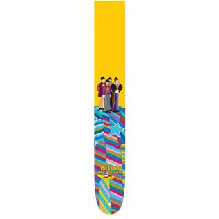 Perri's 6081 The Beatles 2.5'' Guitar Strap, Yellow Multi
