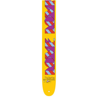 Perri's 6082 The Beatles 2.5'' Guitar Strap, Love