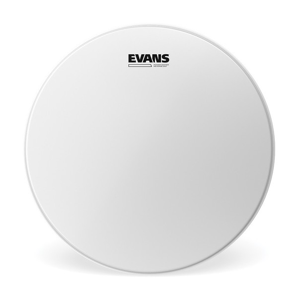 Evans Power Centre Reverse Dot Snare Drum Head, 14''