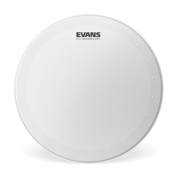 Evans Genera Dry Coated Snare Drum Head, 13''