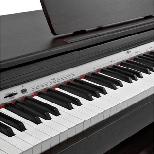 DP10 Digital Piano by Gear4music, Dark Rosewood
