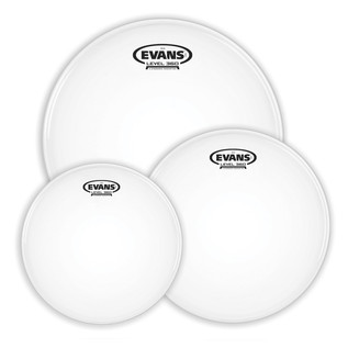 Evans G14 Coated Fusion Tom Pack 10, 12, 14'' Heads
