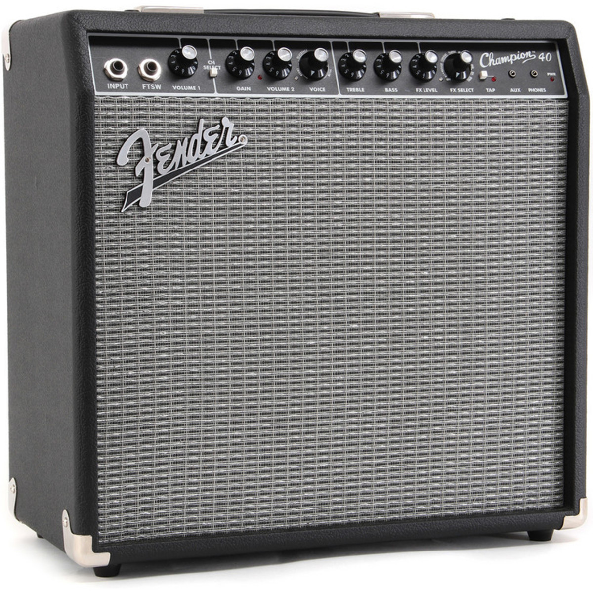 fender champion 40 guitar combo amp with effects nearly new at gear4music. Black Bedroom Furniture Sets. Home Design Ideas