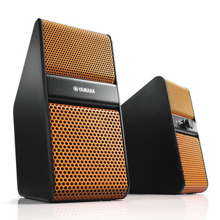 Yamaha NX-50 Speakers for TV, PC, Tablet or Smartphone, Orange