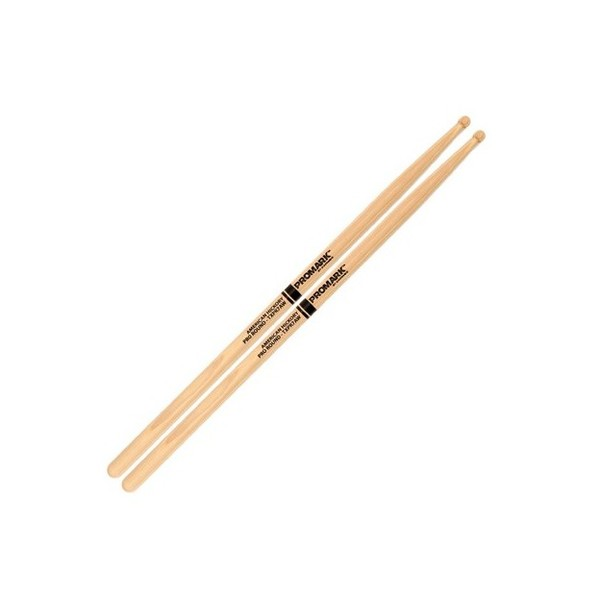 ProMark Hickory 7A ''Pro-Round'' Wood Tip Drumsticks