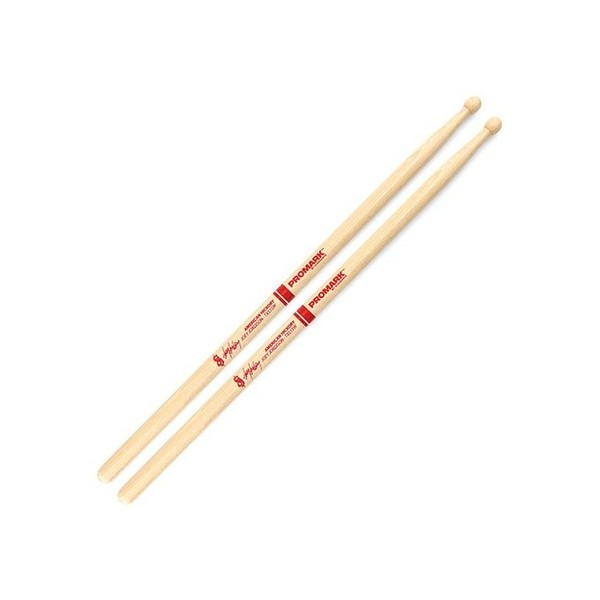ProMark Joey Jordison Woodtip Autograph Drum Sticks, Hickory