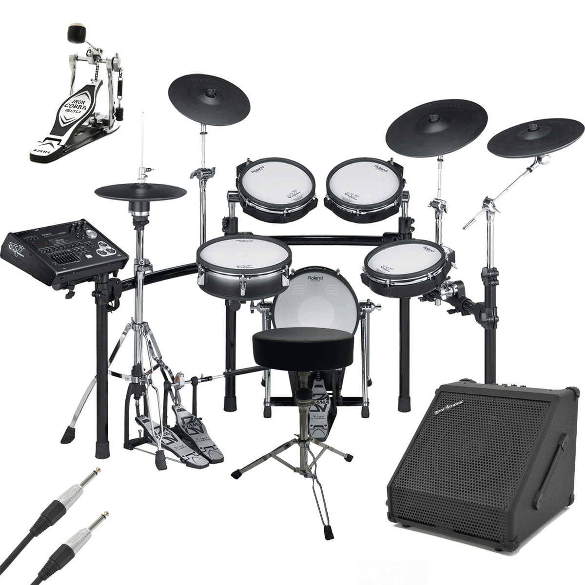 disc roland td 30k v pro electronic drum kit with amp and accessories at. Black Bedroom Furniture Sets. Home Design Ideas