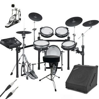 Roland TD-30K V-Pro Electronic Drum Kit with Amp and Accessories