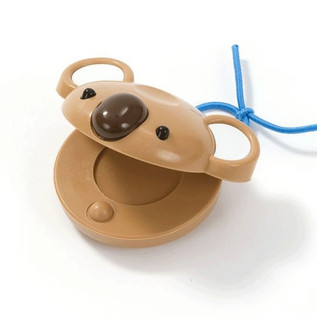 Percussion Plus PP1014 Castanets, Brown Koala