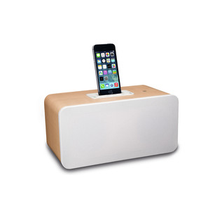Pioneer XW-BTS7 Bluetooth Speaker, Light Wood