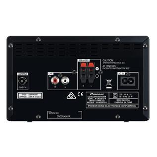 Pioneer X-CM32BTD Micro System with Bluetooth and DAB Radio, Black