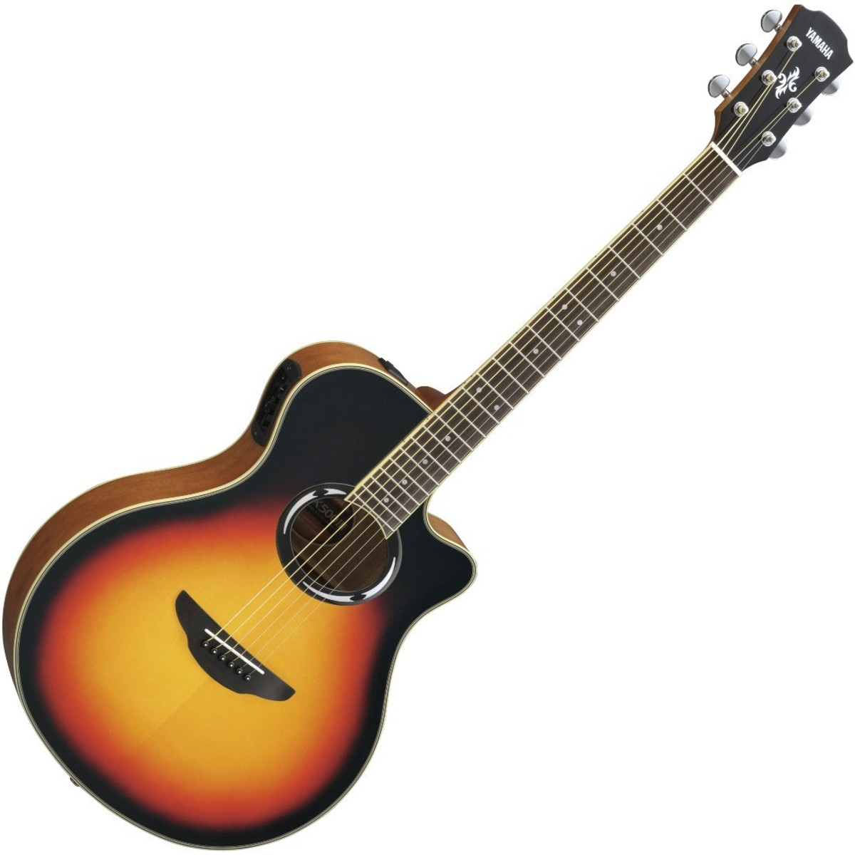 yamaha apx500 iii electro acoustic guitar violin sunburst