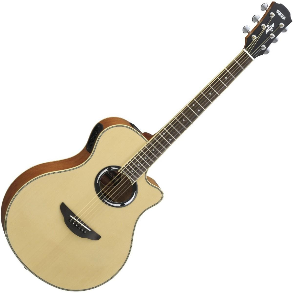 Yamaha APX500 III Electro-Acoustic Guitar, Natural at ...