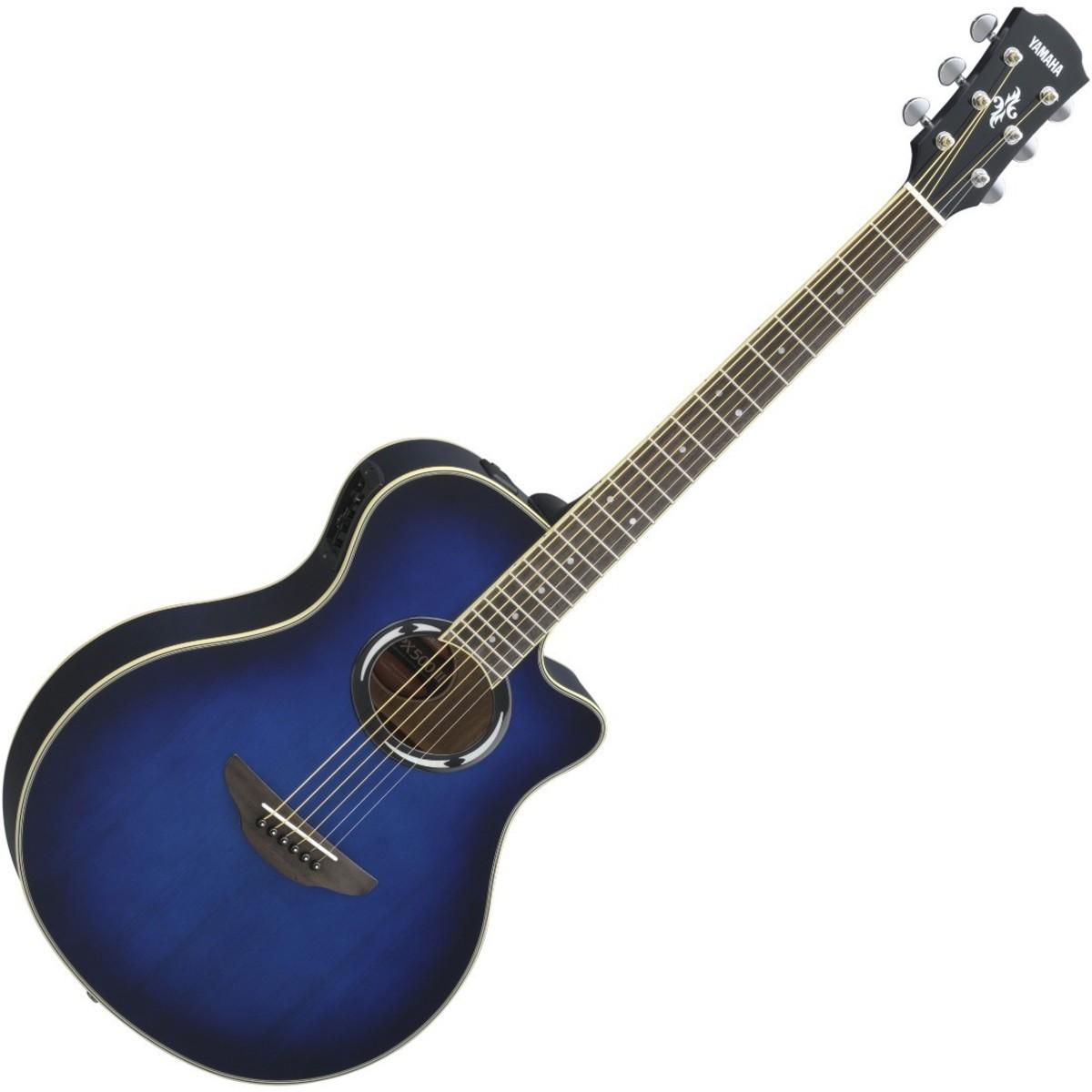 yamaha apx500 iii electro acoustic guitar oriental blue. Black Bedroom Furniture Sets. Home Design Ideas
