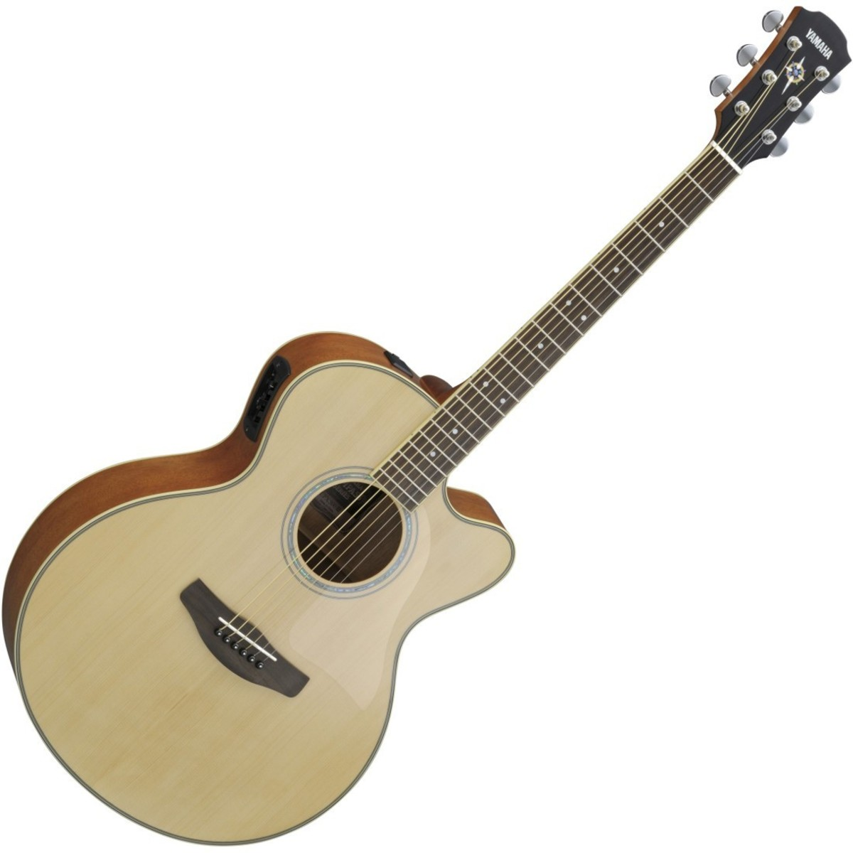 Yamaha cpx500 iii electro acoustic guitar natural at for Yamaha acoustic bass guitar