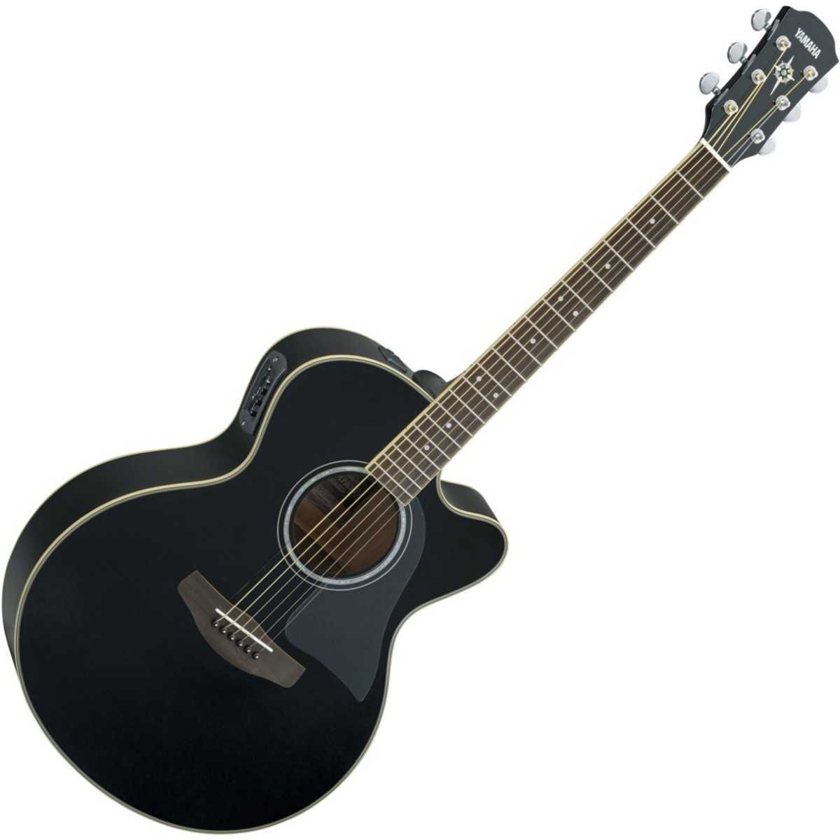 yamaha cpx500 iii electro acoustic guitar black at gear4music. Black Bedroom Furniture Sets. Home Design Ideas