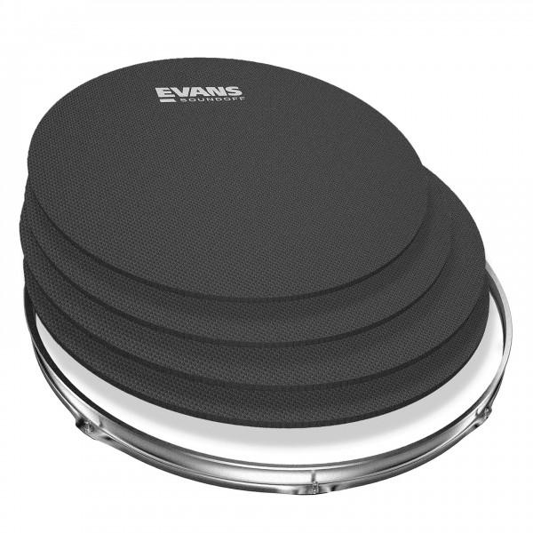 SoundOff by Evans Drum Mute Pak, Fusion (10,12,14,14)