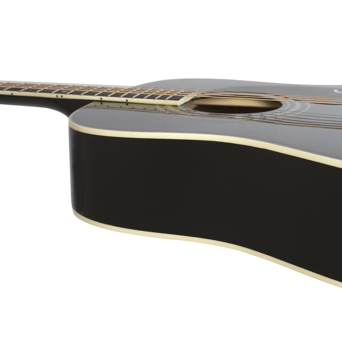 epiphone pro 1 plus acoustic black at gear4music. Black Bedroom Furniture Sets. Home Design Ideas