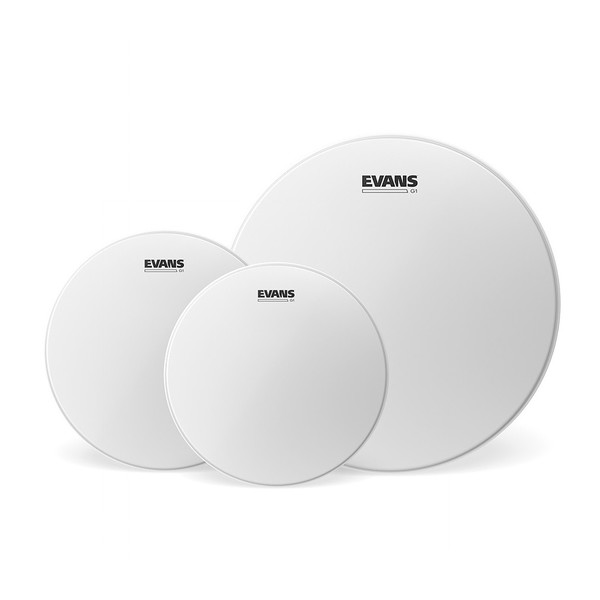 """Evans G1 Coated Fusion Tom Pack 10"""" 12"""" 14"""""""