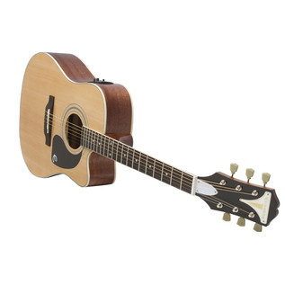 Epiphone Pro-1 ULTRA Electro-Acoustic Guitar for Beginners, Natural
