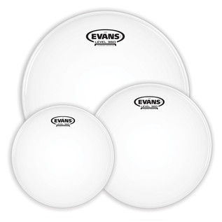 Evans G14 Tompack Coated, Rock 10, 12, 16'' Heads