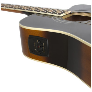Epiphone Pro-1 ULTRA Electro-Acoustic Guitar for Beginners, Sunburst