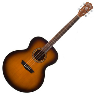Washburn WJ7S ATBM 7 Harvest Series, Jumbo Acoustic Guitar