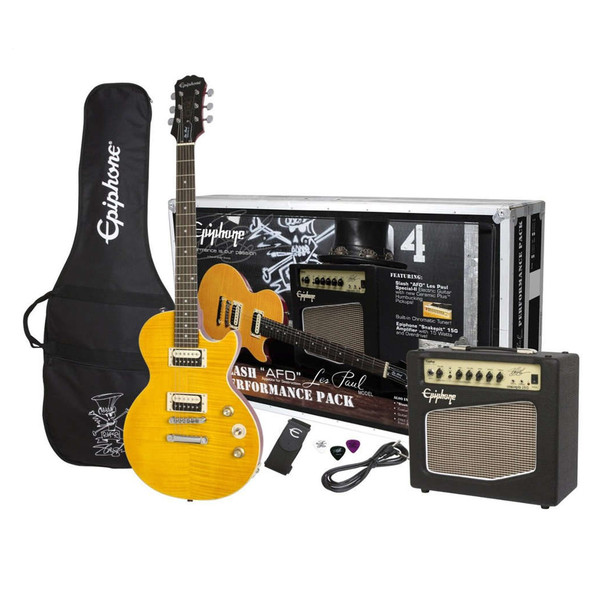 Epiphone Slash 'AFD' Les Paul Special II Guitar and Amp Pack