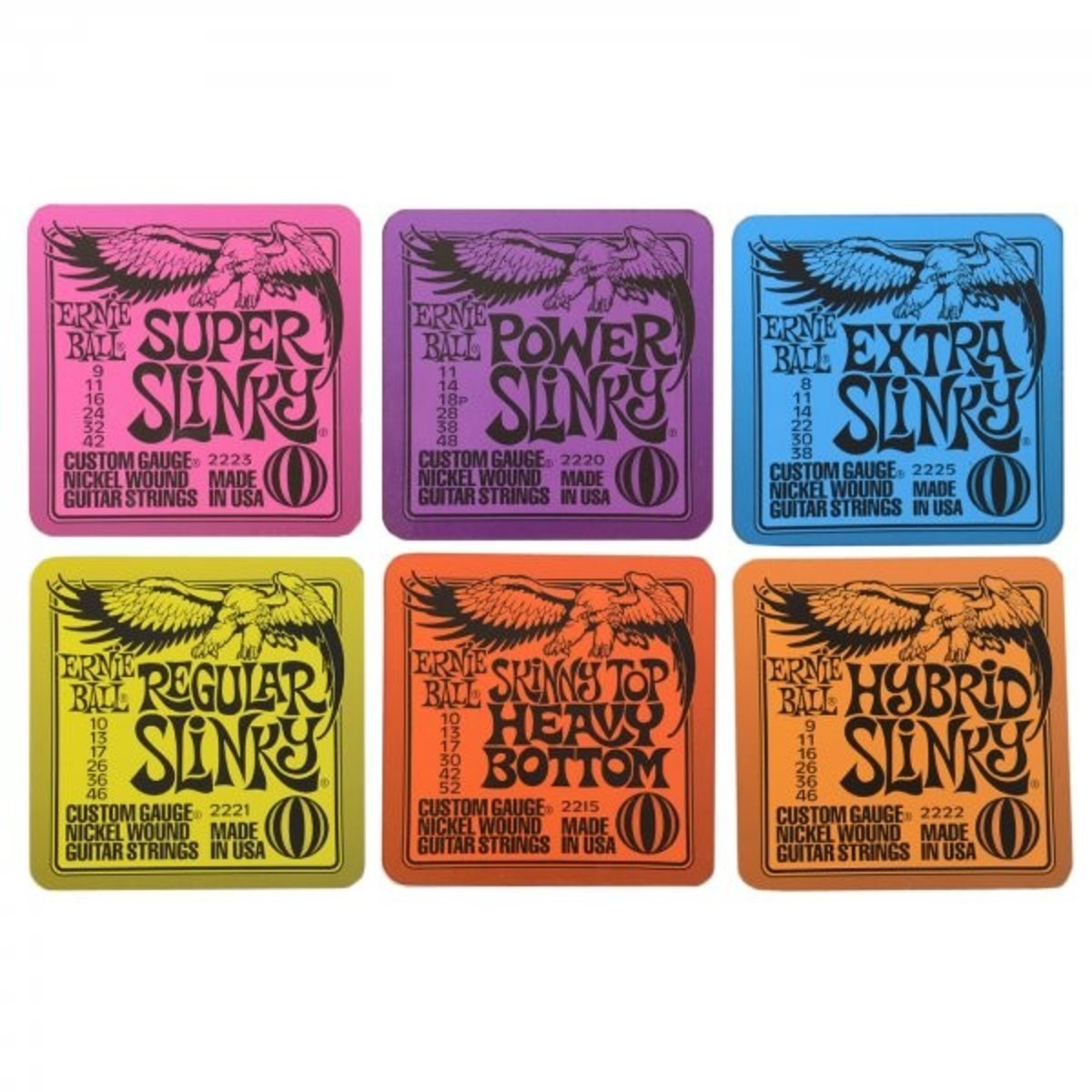 ernie ball slinky drink coasters at gear4music. Black Bedroom Furniture Sets. Home Design Ideas